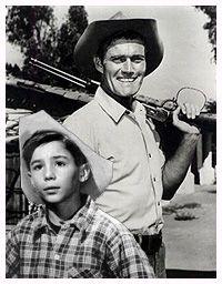 The Rifleman starring Chuck Conners :)