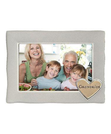 Silver \'Grandkids\' Frame #zulily #zulilyfinds | For the Home ...