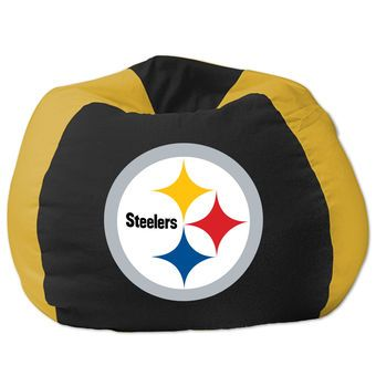 Pittsburgh Steelers Bean Bag Chair | Man Cave Decor | Pinterest | Pittsburgh  Steelers, Steelers Stuff And Nfl Gear