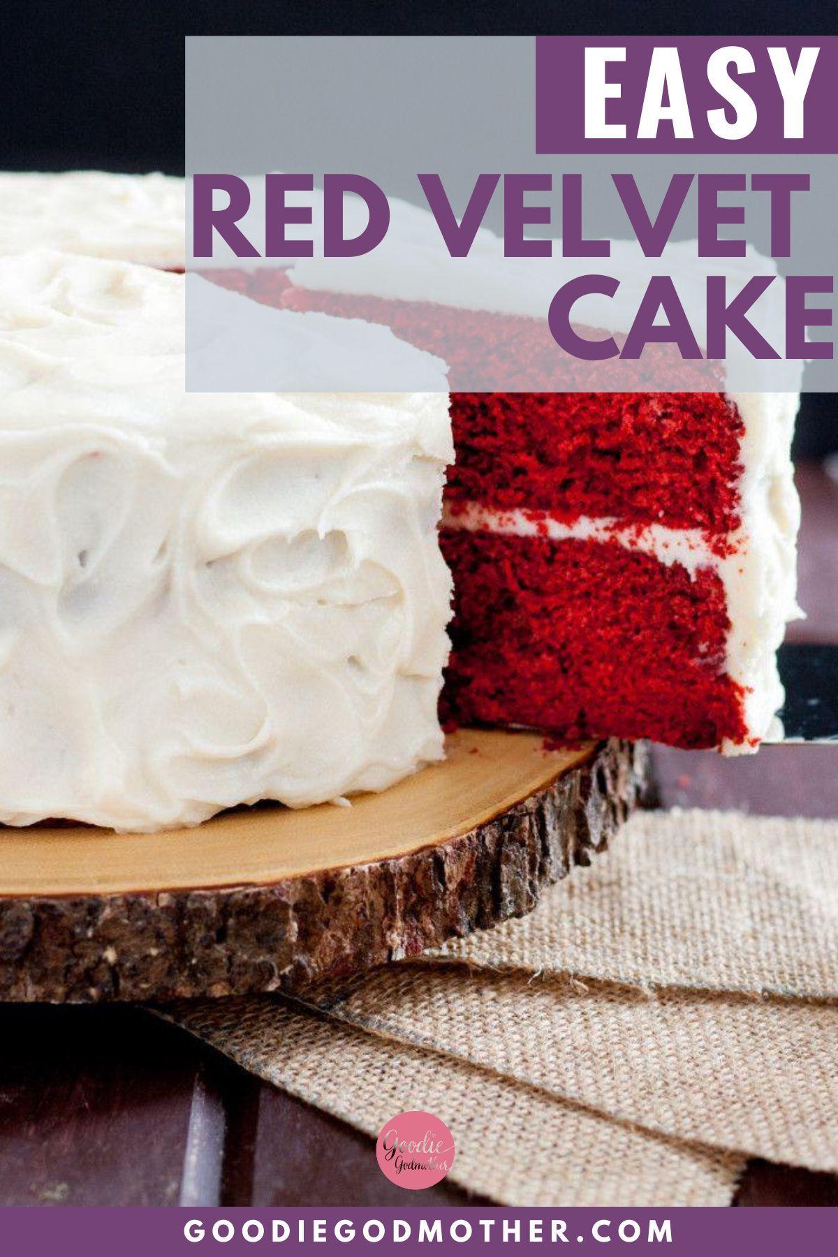 Red Velvet Cake Recipe In 2020 Red Velvet Cake Red Velvet Cake Recipe Easy Red Velvet Cake
