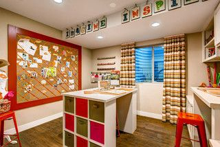 Expressions at Stapleton - traditional - home office - denver - by Wonderland Homes