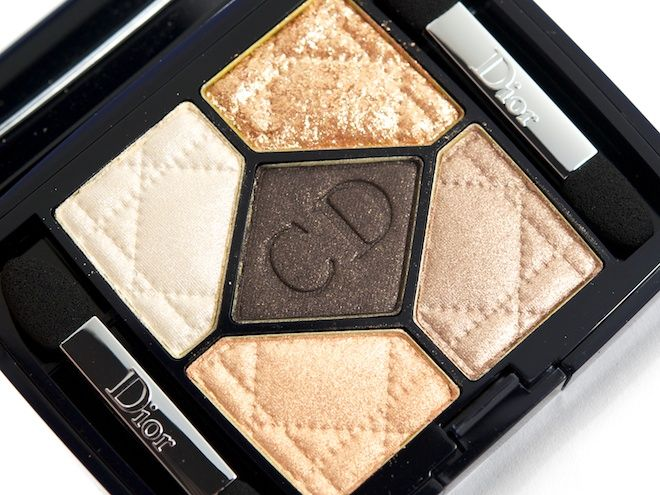 Dior 5-Color Eyeshadow Palette in Night Golds