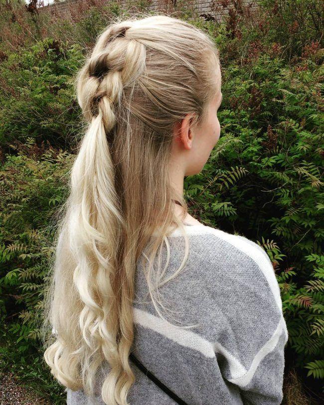 60 Cute Easy Half Up Half Down Hairstyles: Wedding, Prom | Down hairstyles, Simple prom hair ...