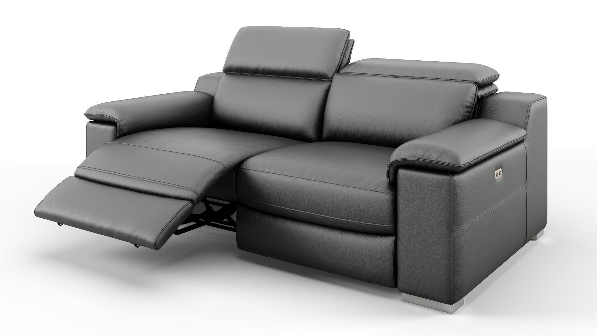 Design Sofa 2 Sitzer Couch Mit Relaxfunktion Sofanella Sofa Mit Relaxfunktion 2 Sitzer Sofa Moderne Couch