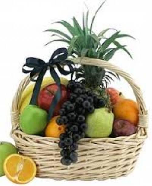 Cesta De Frutas Cestas De Frutas De Regalo Arreglos De Frutas Arreglos Frutales