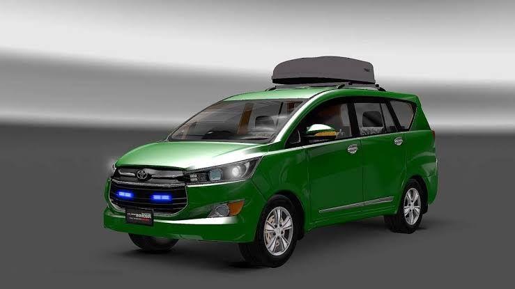 Toyota Innova Crysta Car Mod For Bus Simulator Indonesia In 2020 Toyota Innova Car Mods Toyota
