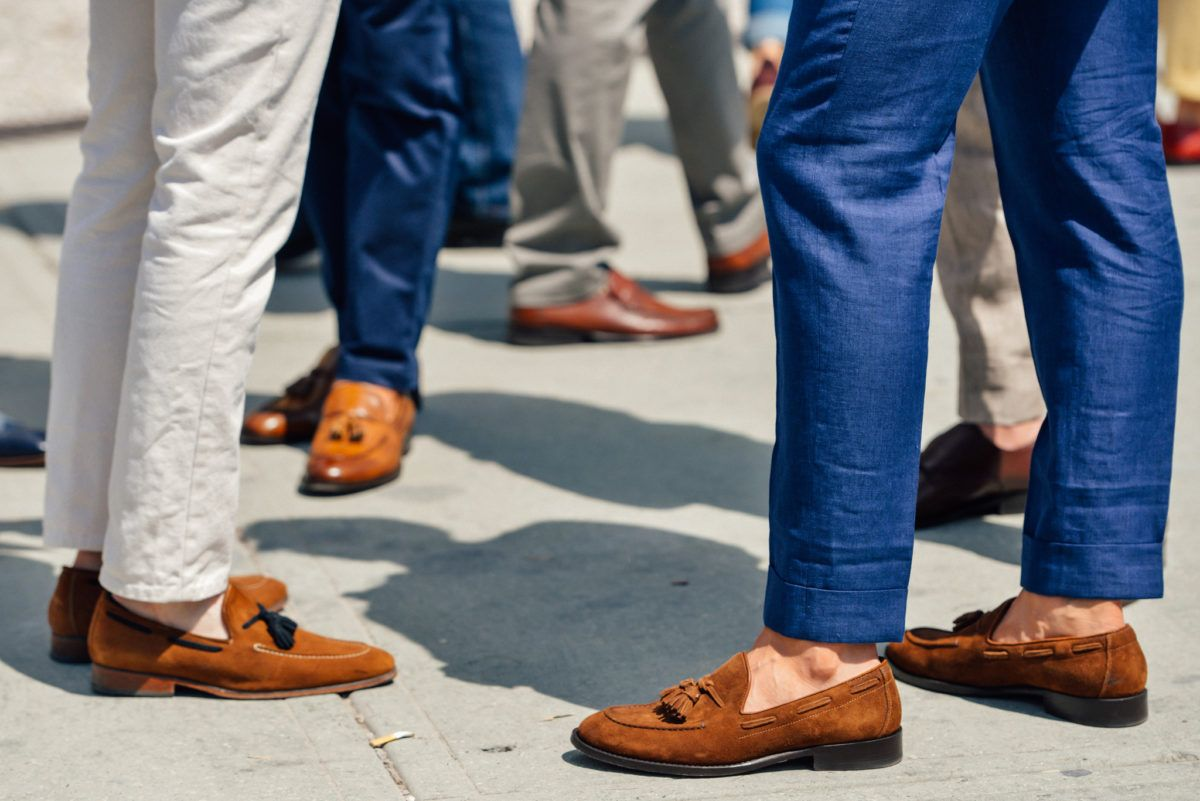 096e1cbcbde How to Rock This Season s Sockless Trend