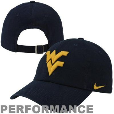 Nike West Virginia Mountaineers Dri-FIT 3D Tailback Adjustable Performance  Hat - Navy Blue 7e6ad771f9d