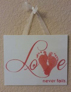 Crafts For Baby Footprints