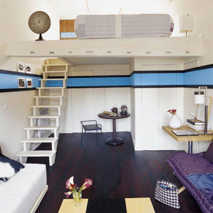 41 m² tout le confort sur deux niveaux dans une chambre de service