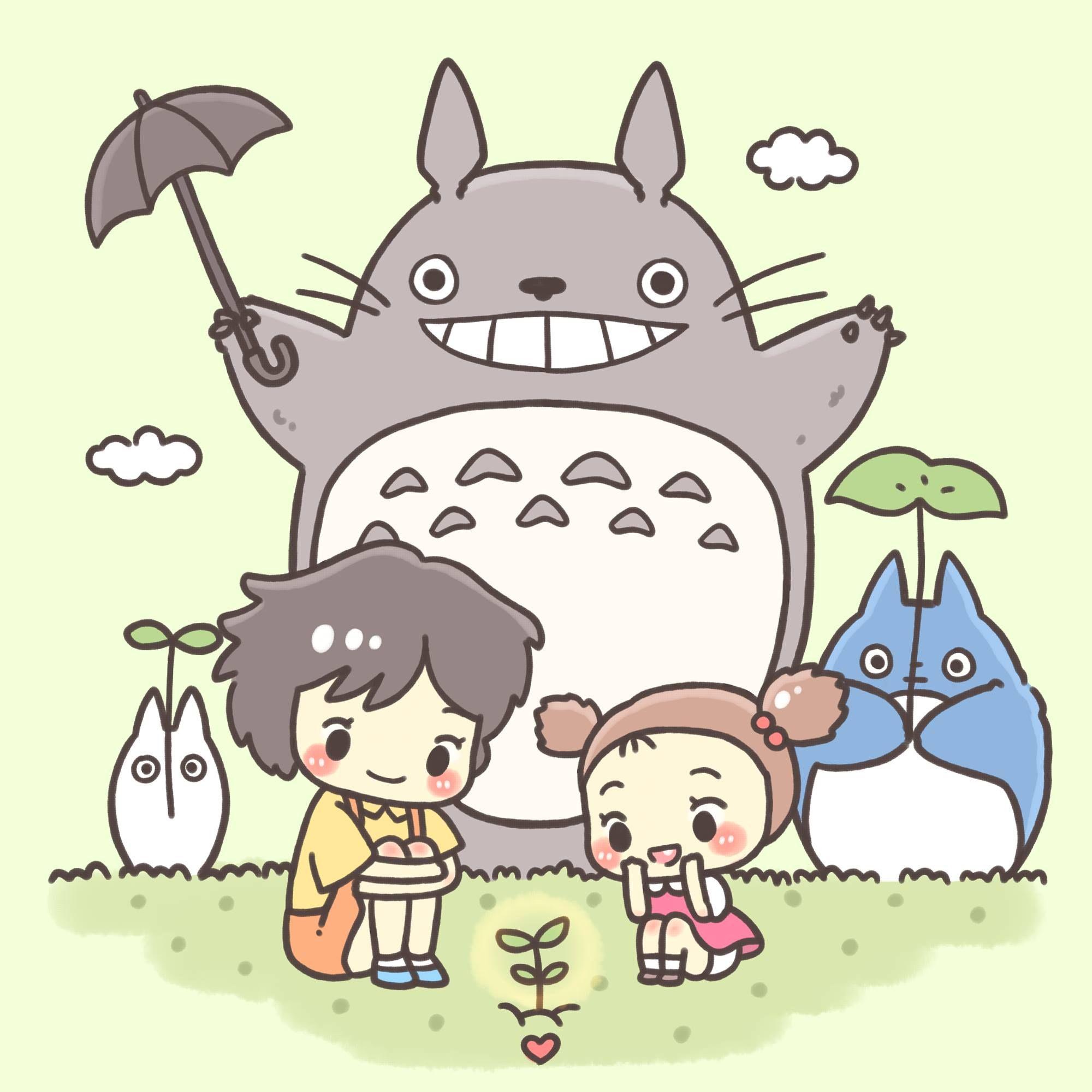 Mei Satsuki And Totoro トトロ スタジオジブリ キャラクター かわいい