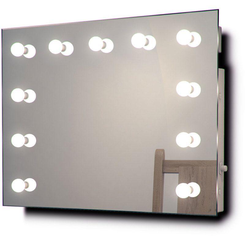 Miroir De Maquillage Mural Hollywood Diamond X Audio Avec Ampoules Blanc Froid Couleur Led Ampoules Led Lumiere Du Jour Dressing Room Mirror Hollywood Makeup Mirror White Vanity Mirror