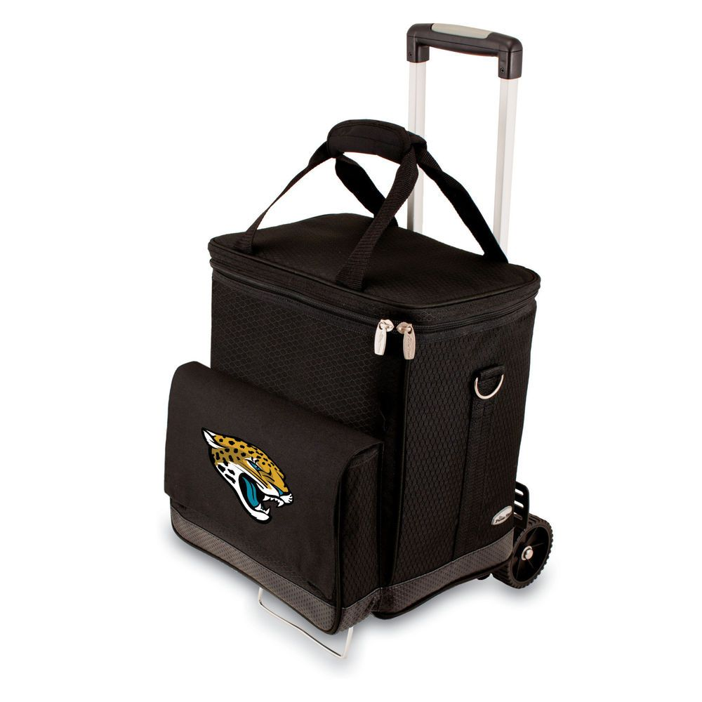 Game cooler bags - Nfl Licensed Jacksonville Jaguars Football Game Cellar Cooler Tote With Trolley Jacksonvillejaguars