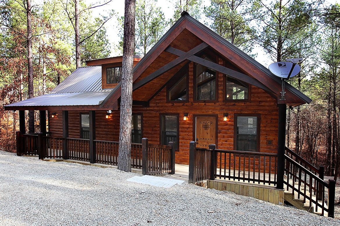 Hillside Paradise Cabin In Broken Bow Oklahoma Hillside Paradise Represents The Next Generation Of Luxury One Bedroom Cabi Cabin Broken Bow Cabins Lake Cabins