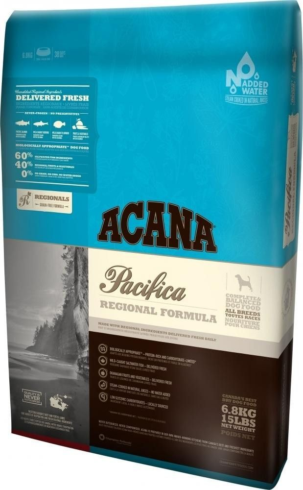 Acana Pacifica Dry Cat Food 5lbs Dry Cat Food Acana Dog