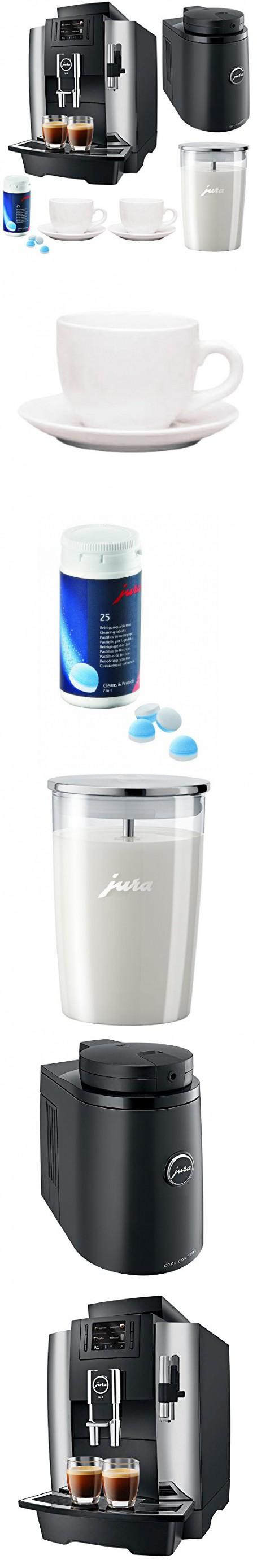 Jura WE8 Professional Coffee Machine Bundle Super