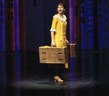 Thoroughly Modern Millie Sutton Foster Not For The Life Of Me Broadway 2002 Costume Tony Award Winners Sutton Foster Millie