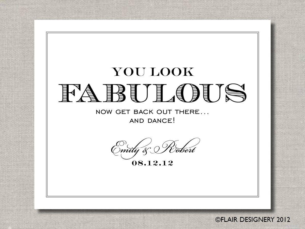 You Look Fabulous