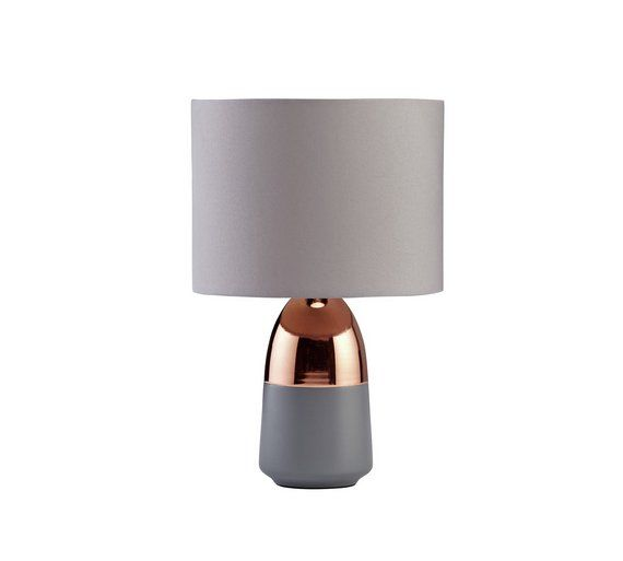 Argos Home Duno Touch Table Lamp (Pink