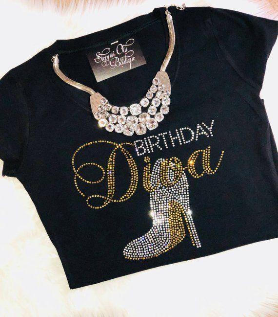 Women Birthday Shirt Girl T Diva Womens