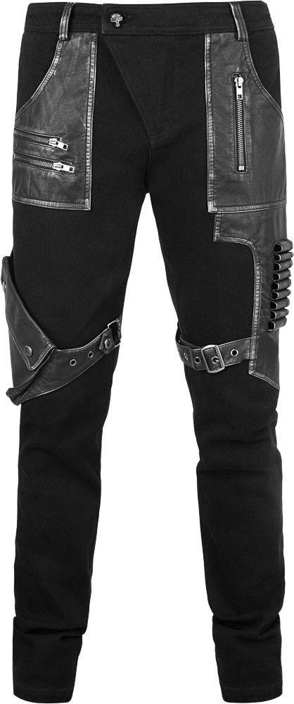 Punk Rave bullet pants  b7449f0347