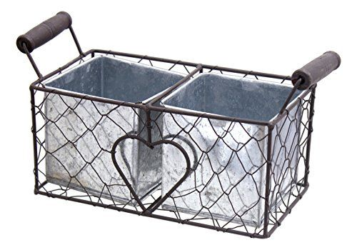 MayRich 975 Decorative Wire Basket with Tin Containers -- Find out ...