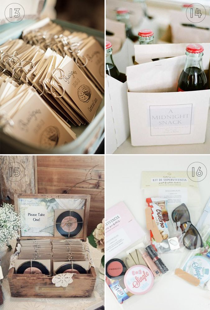 12 regalos de boda originales y tiles Aubrey and Me Pinterest