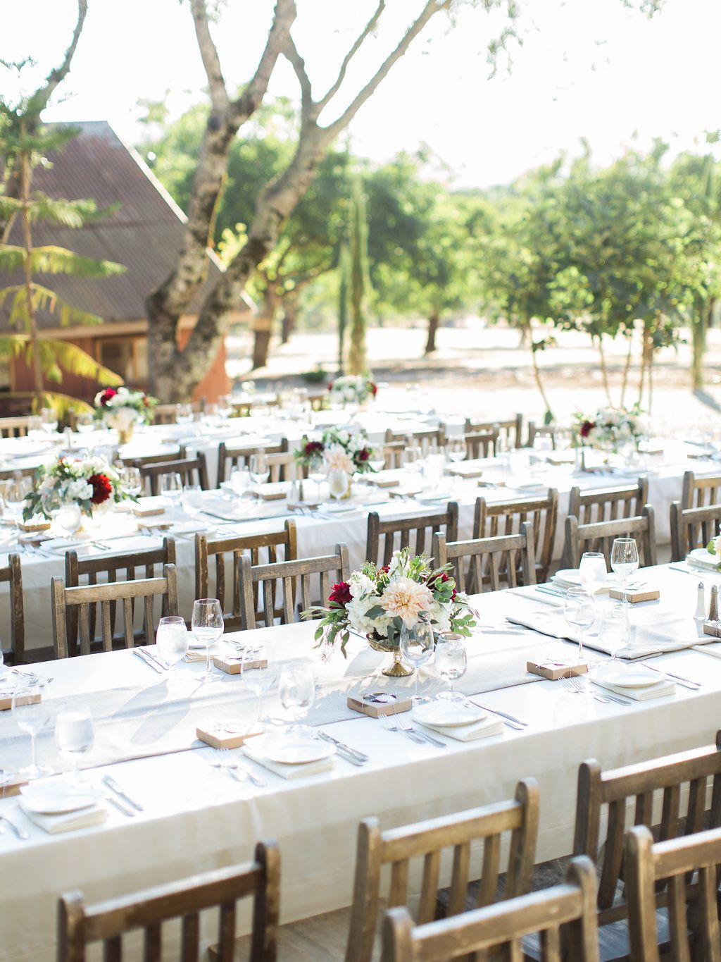 Triple S Ranch Dining outside for wedding in 2020