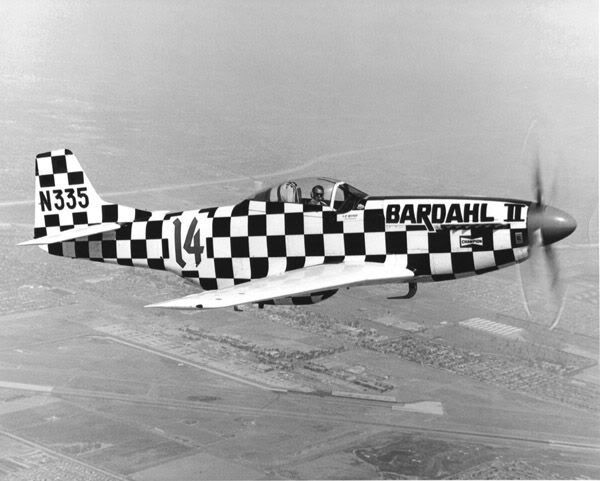 Bardahl P51 Over Reno Reno Air Races Air Race