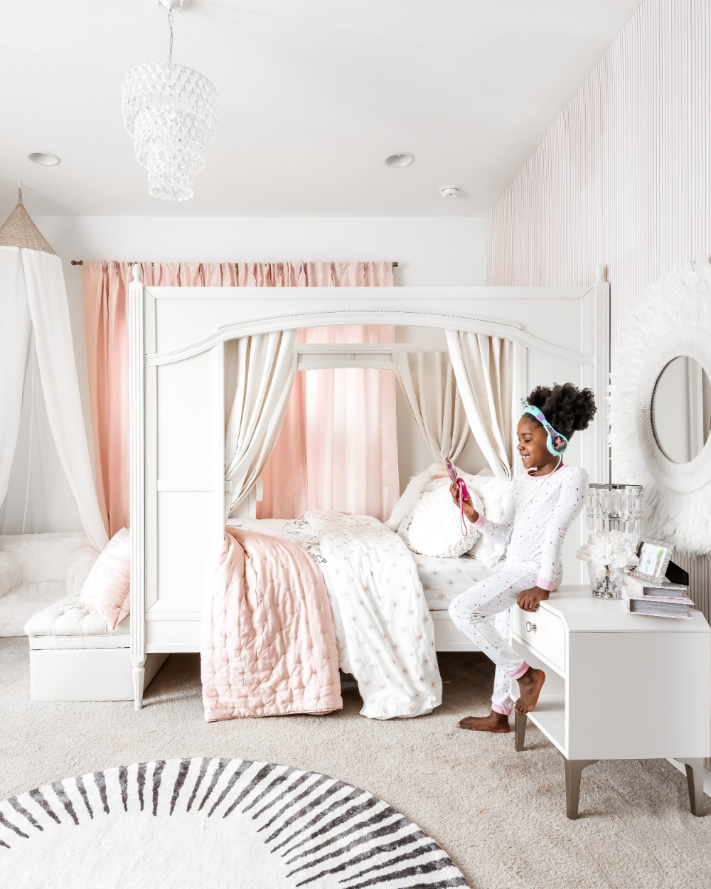 Aria's Bedroom Reveal with Pottery Barn Kids — DAYNA