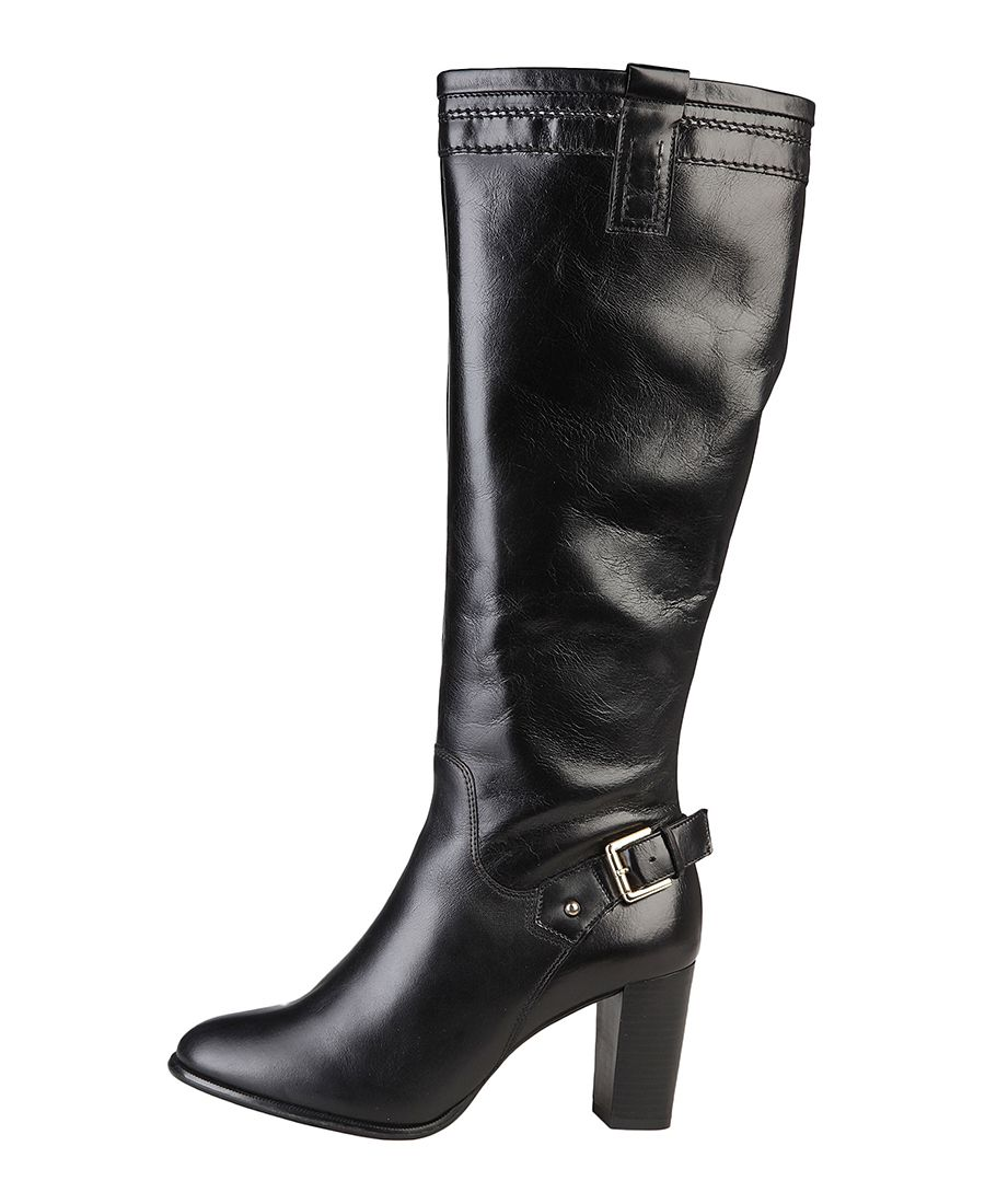Womens shoes - women's boots 100% genuin leather, side zip fastening - insole: synthetic material - sole: rubber - heel: - Boot women Black