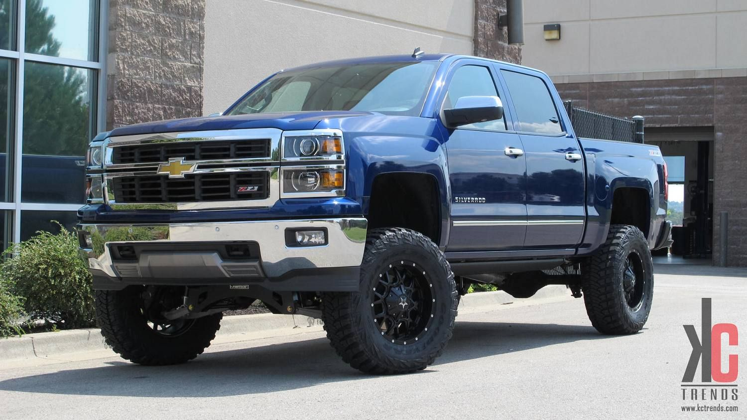 Truck black chevy truck lifted : one day i will get a chevy silverado truck with a lift kit on it ...