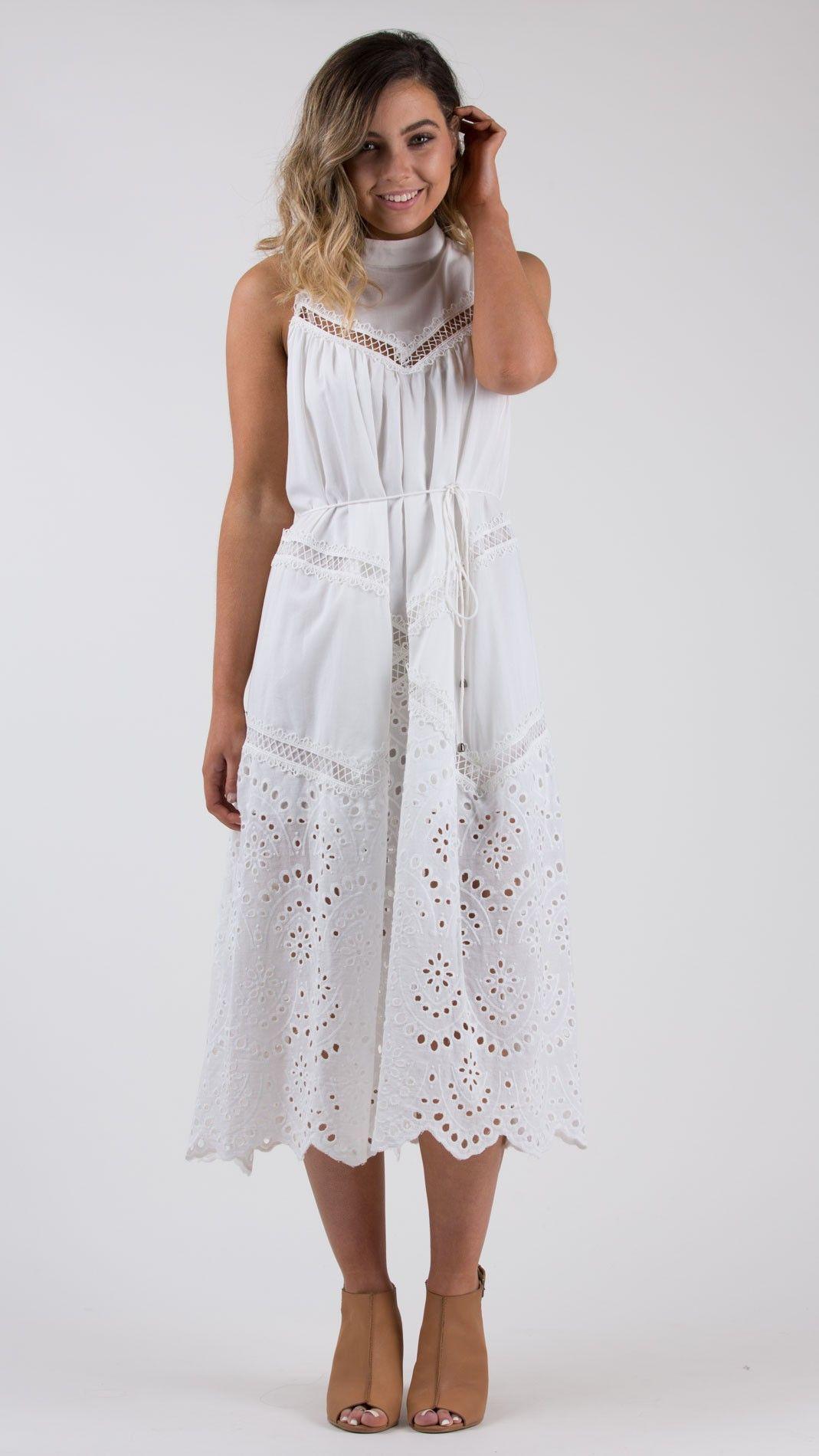 95d2a01ca88 Audrey Dress - Feather and Noise | Clothes | Dresses, White dress ...