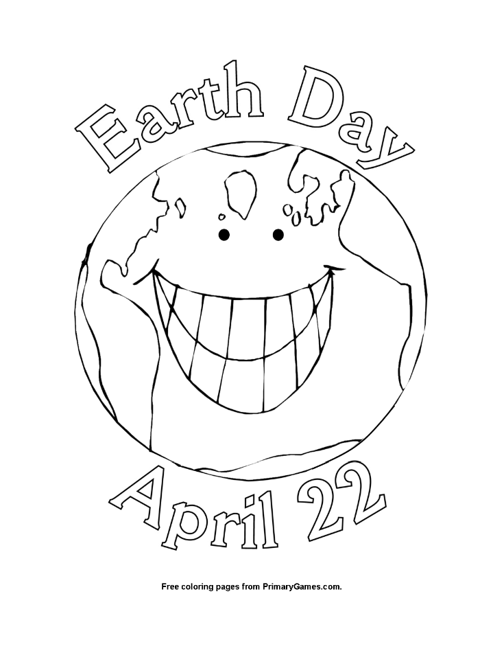 Earth day coloring pages ebook earth day