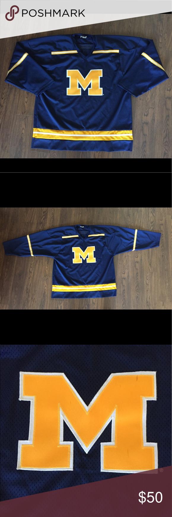 Vintage Koronis Michigan Wolverines Hockey Jersey Hockey Jersey Michigan Wolverines Hockey Michigan Wolverines