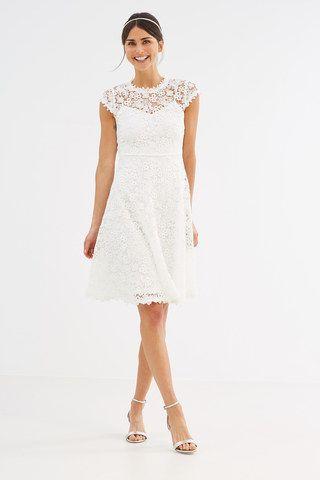 Spitzenbrautkleid von Esprit, 139,90 €   Brautkleid   Pinterest ...