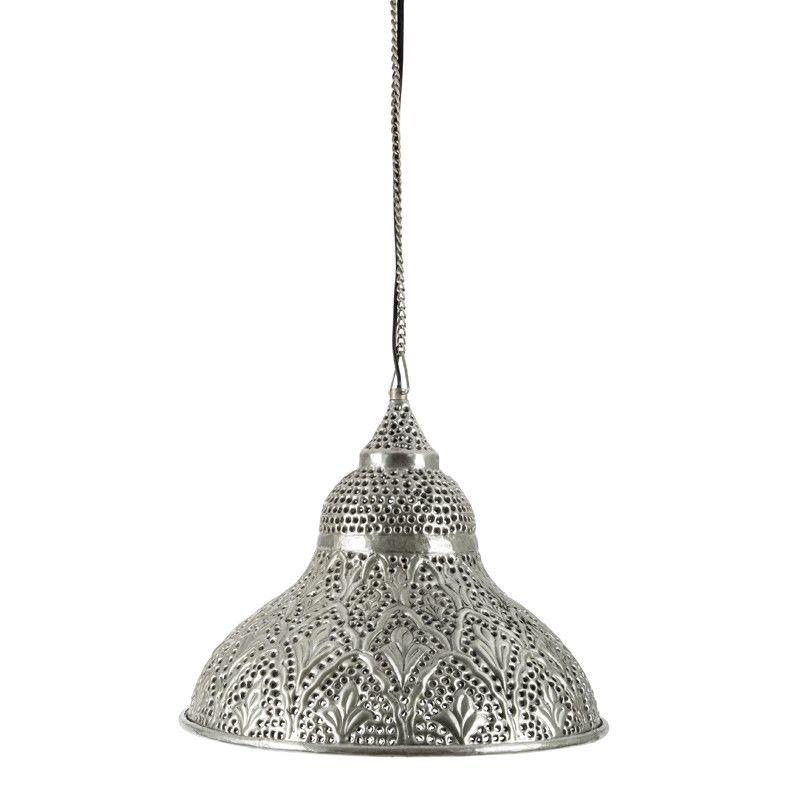 aluminium half shell hanging lamp