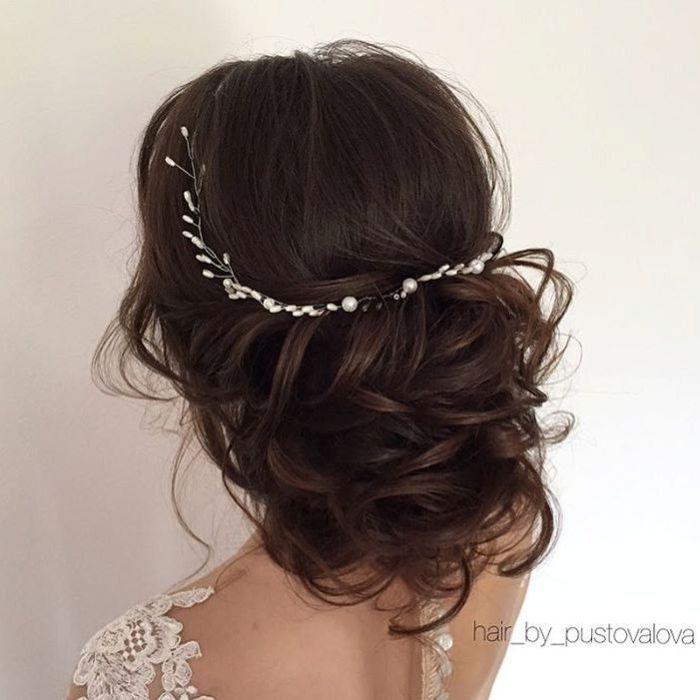 40 Chic Wedding Hair Updos for Elegant Brides | Curly wedding updo ...