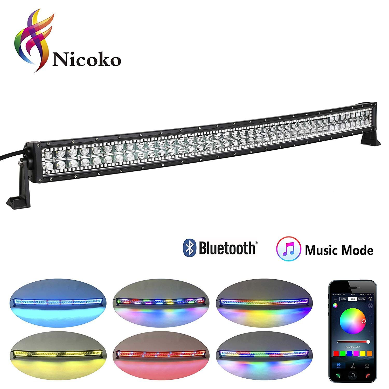 RGB Curved LED Light Bar Led work light, Curved led