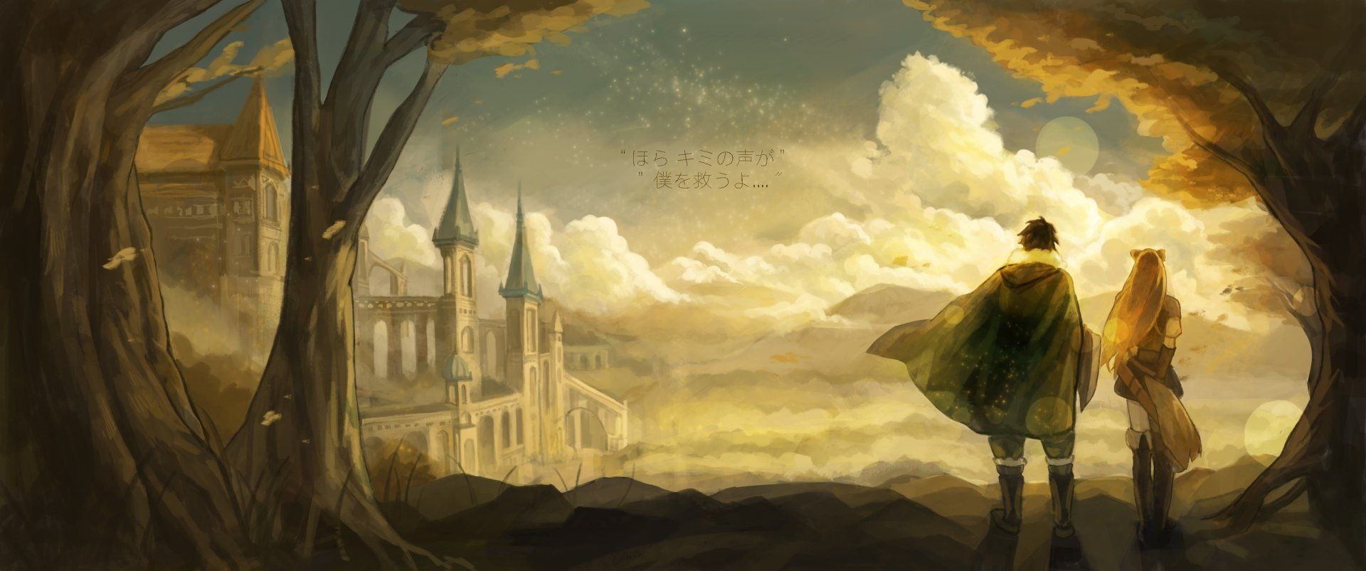 4096x1714 The Rising Of The Shield Hero Wallpaper Background Image View Download Comment And Rate Wallpaper Abyss Hero Wallpaper Anime Hero