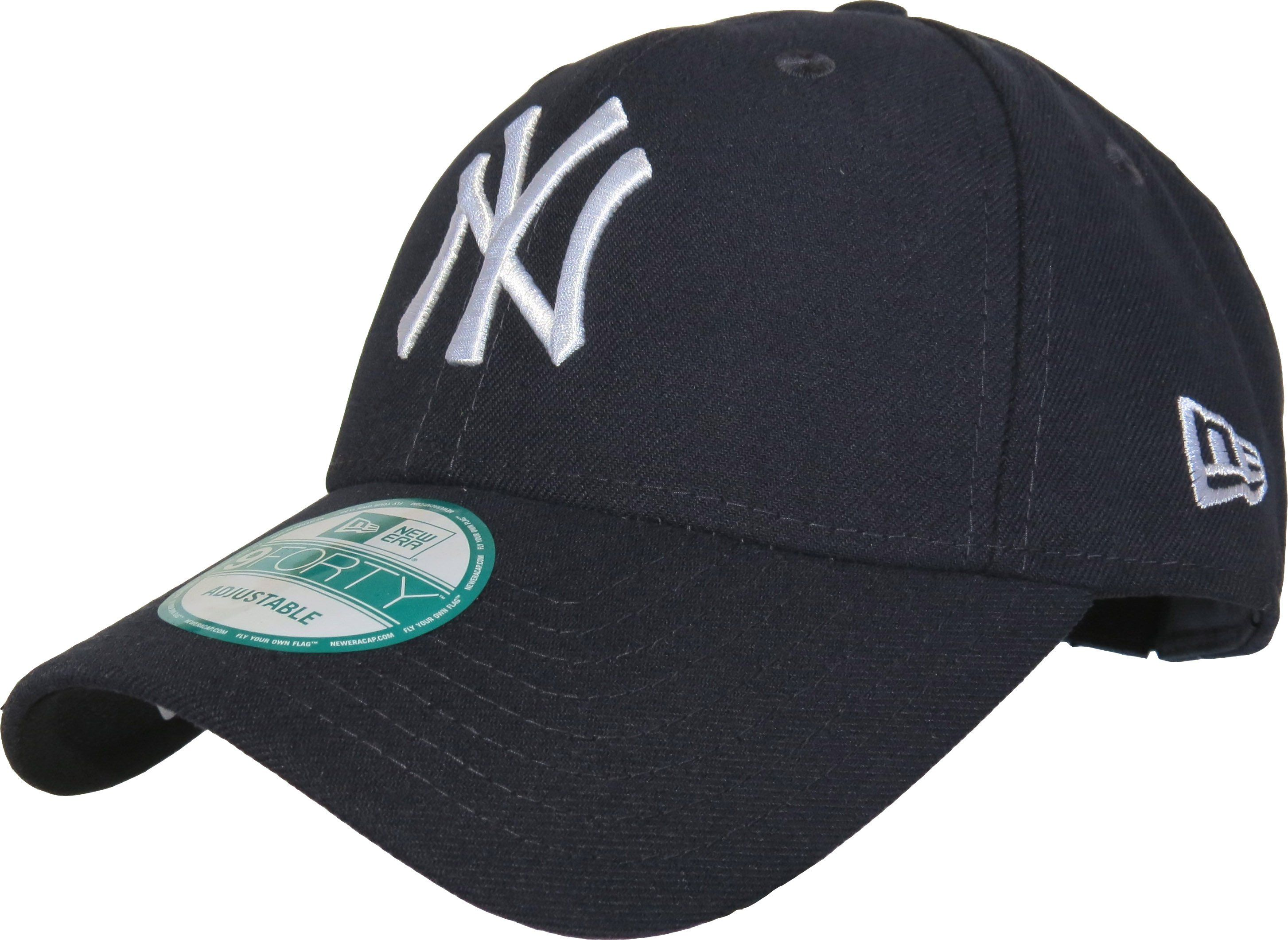 New Era 9Forty New York Yankees The League Adjustable Baseball Cap. Dark  Navy with the  NY  front logo f40d07dc99b