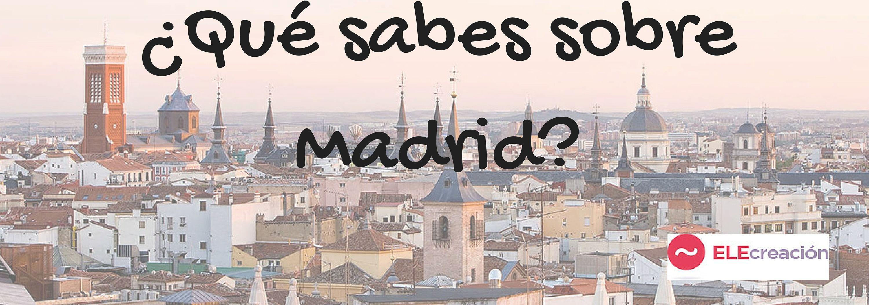 Aqui Te Presentamos Un Cuestionario Cultural Sobre Madrid