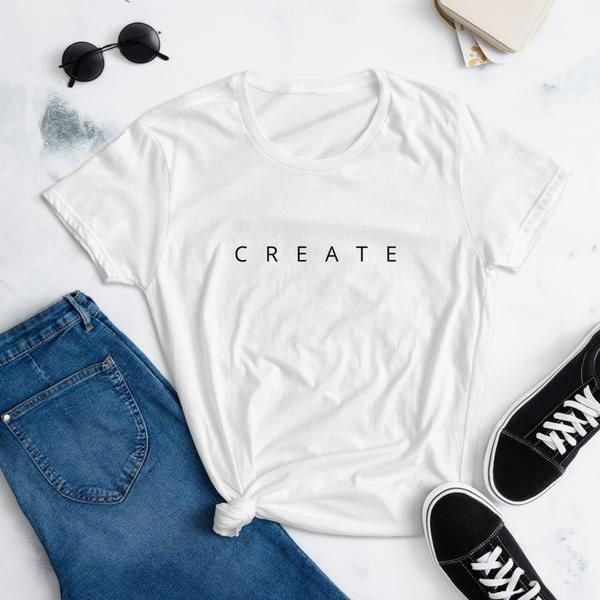 Create Minimalist T-Shirt - Best Creative Gift Ideas for Artists – The Crafty Label