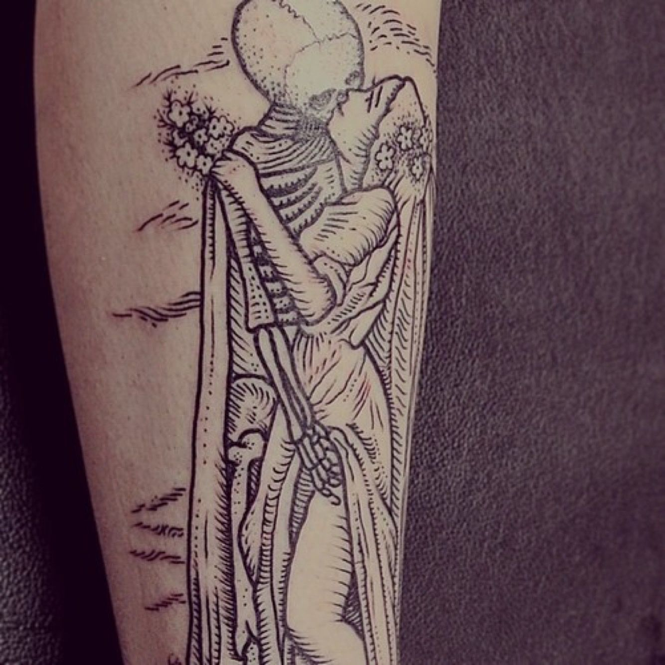 Memento Mori Tattoo Design on Behance Эскиз, Эскиз тату