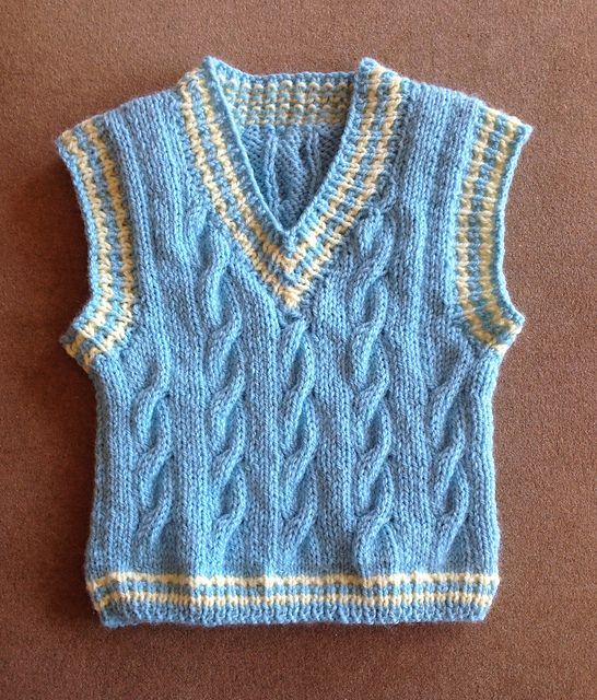 0e4c2e166 Keene Toddler Vest pattern by Marilyn Losee