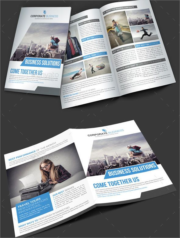100 free best business brochure design templates graphic one