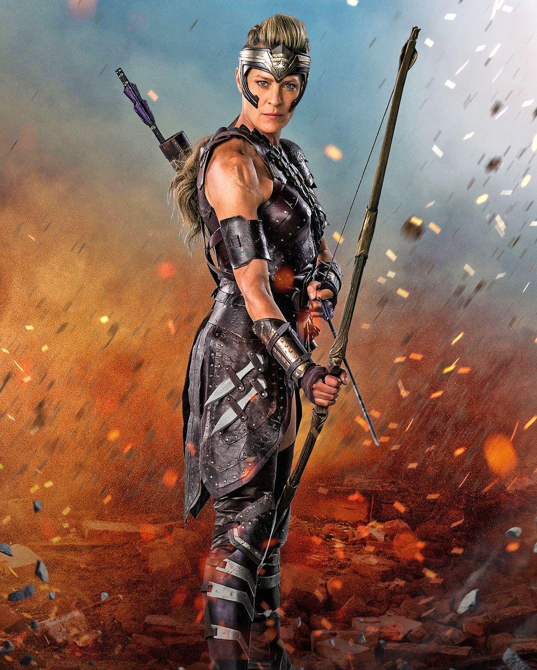 Robin Wright Site  Wonder Woman 2017  Warrior Shit -4047