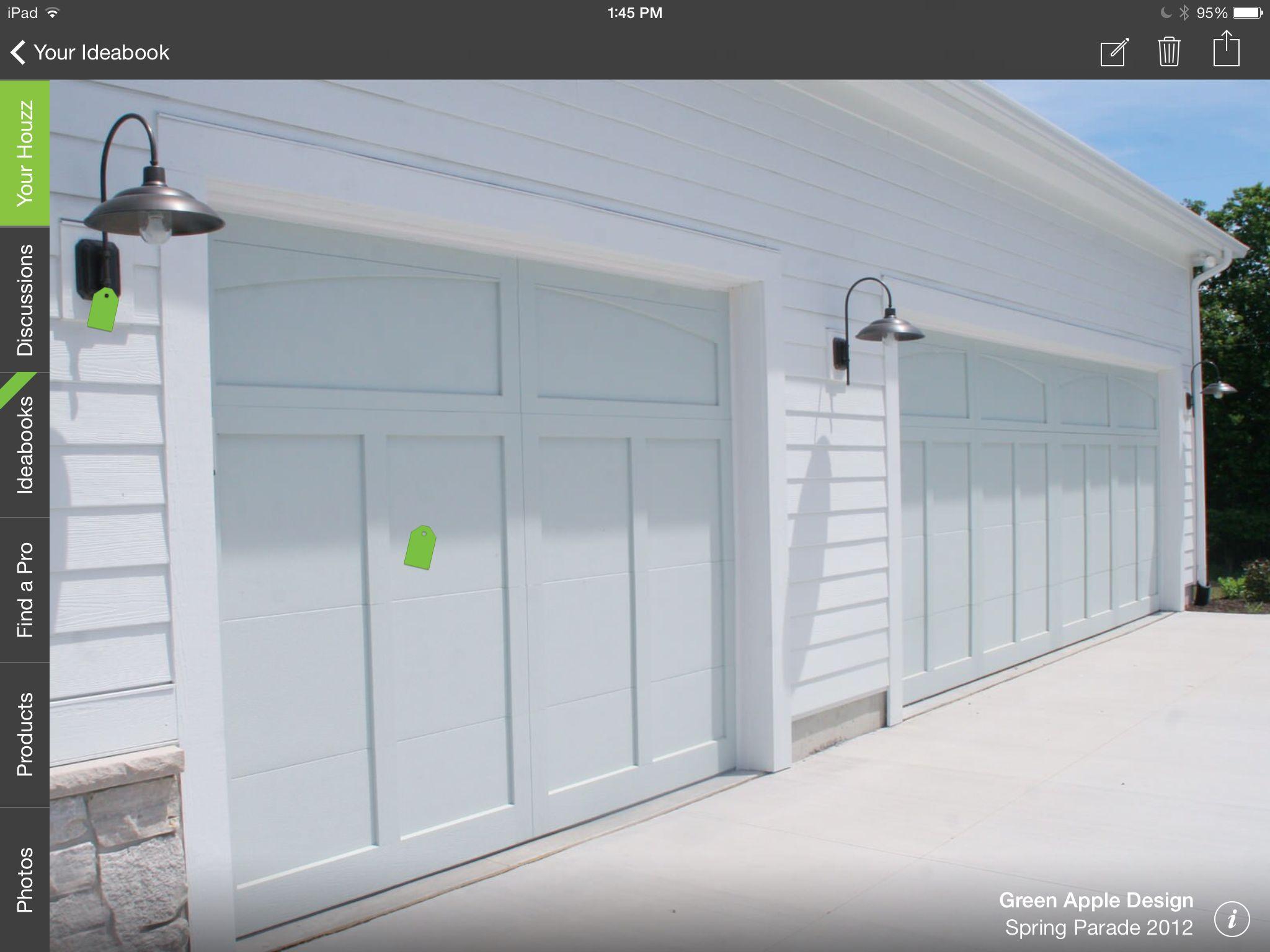 No windows  Details in 2019  Garage doors Carriage