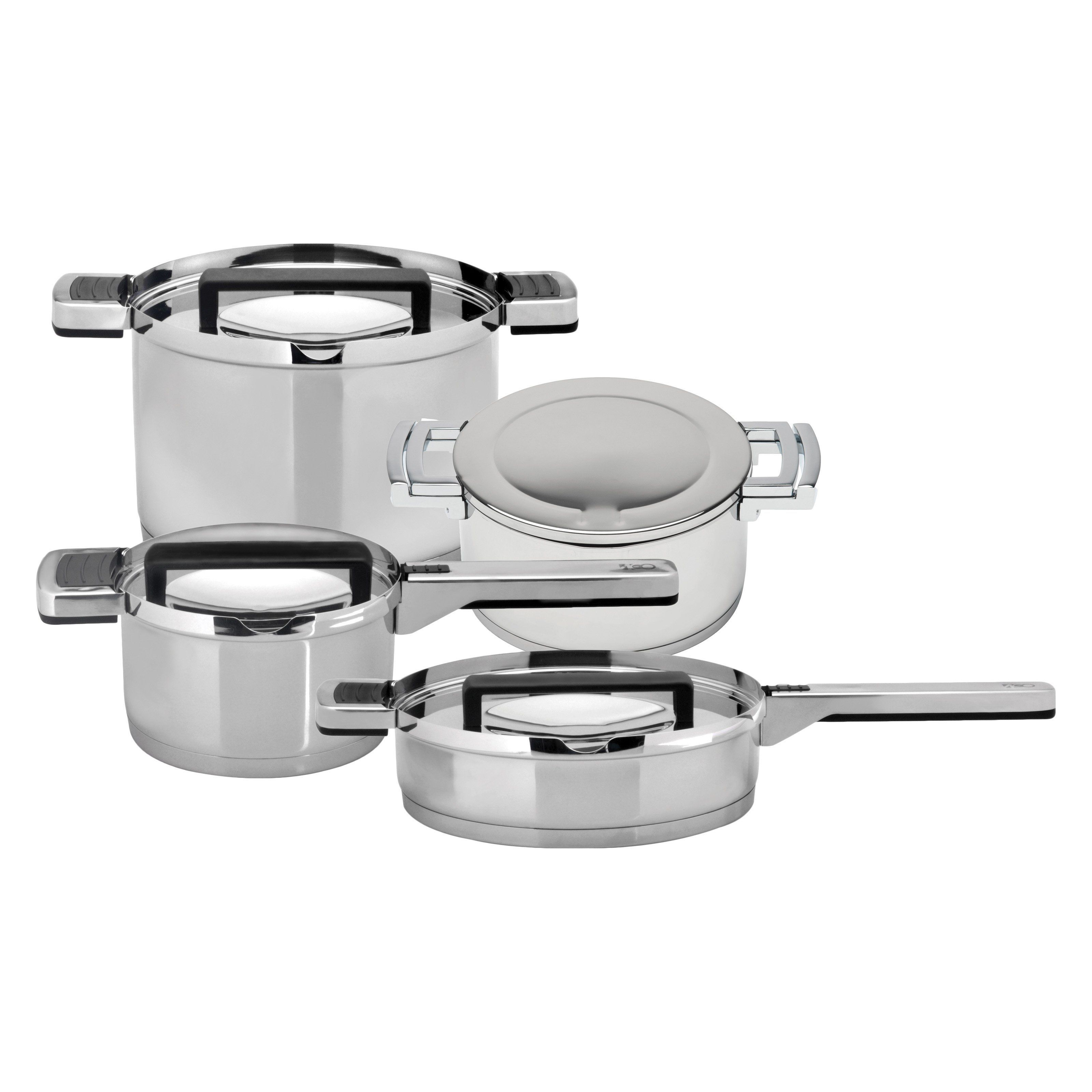 BergHOFF 2211262 Neo Stainless Steel 8 Piece Cookware Set - 2211262