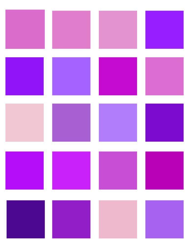 как можно наложить на фотографию фиолетовый цвет это